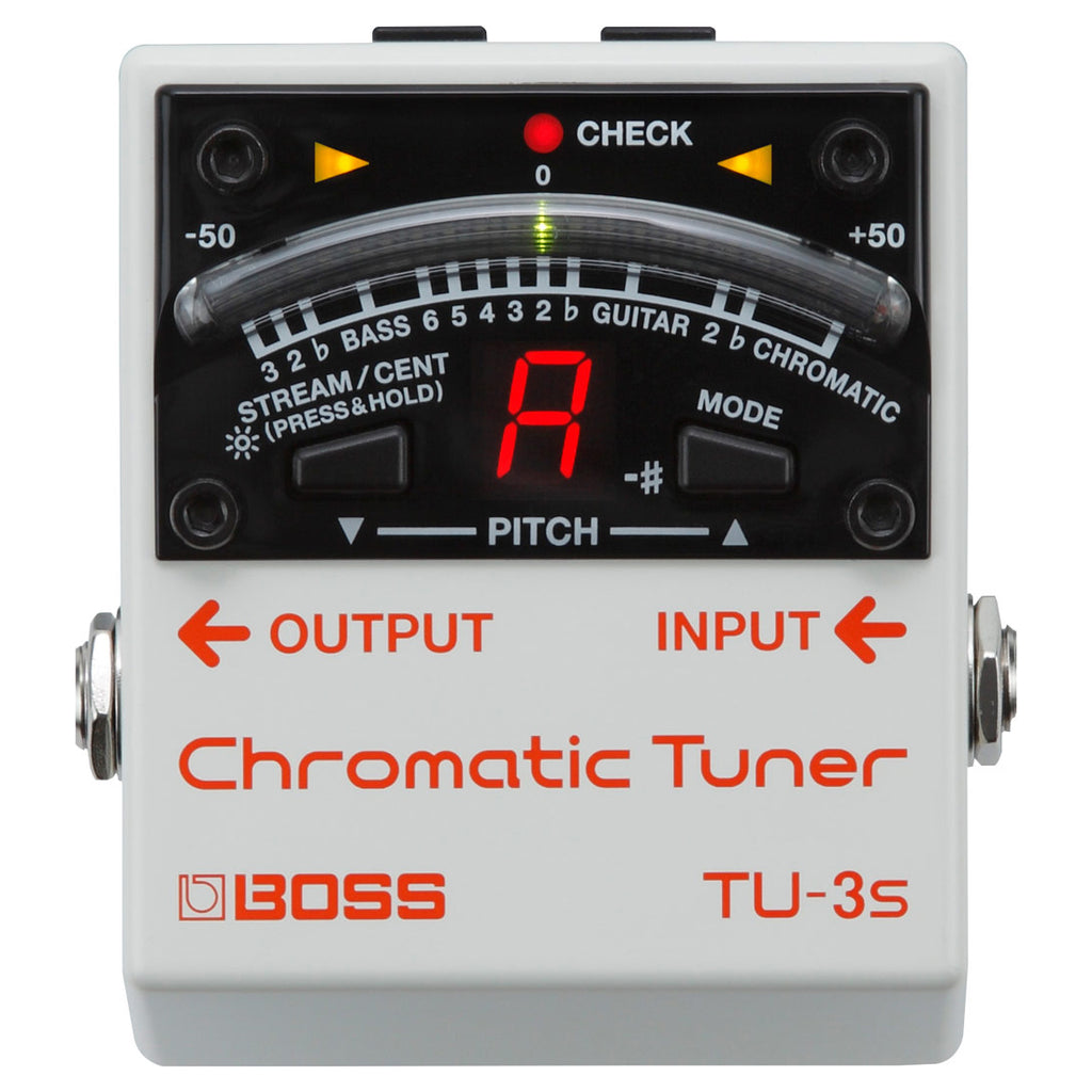 Boss TU-3S Chromatic Tuner For Pedalboard
