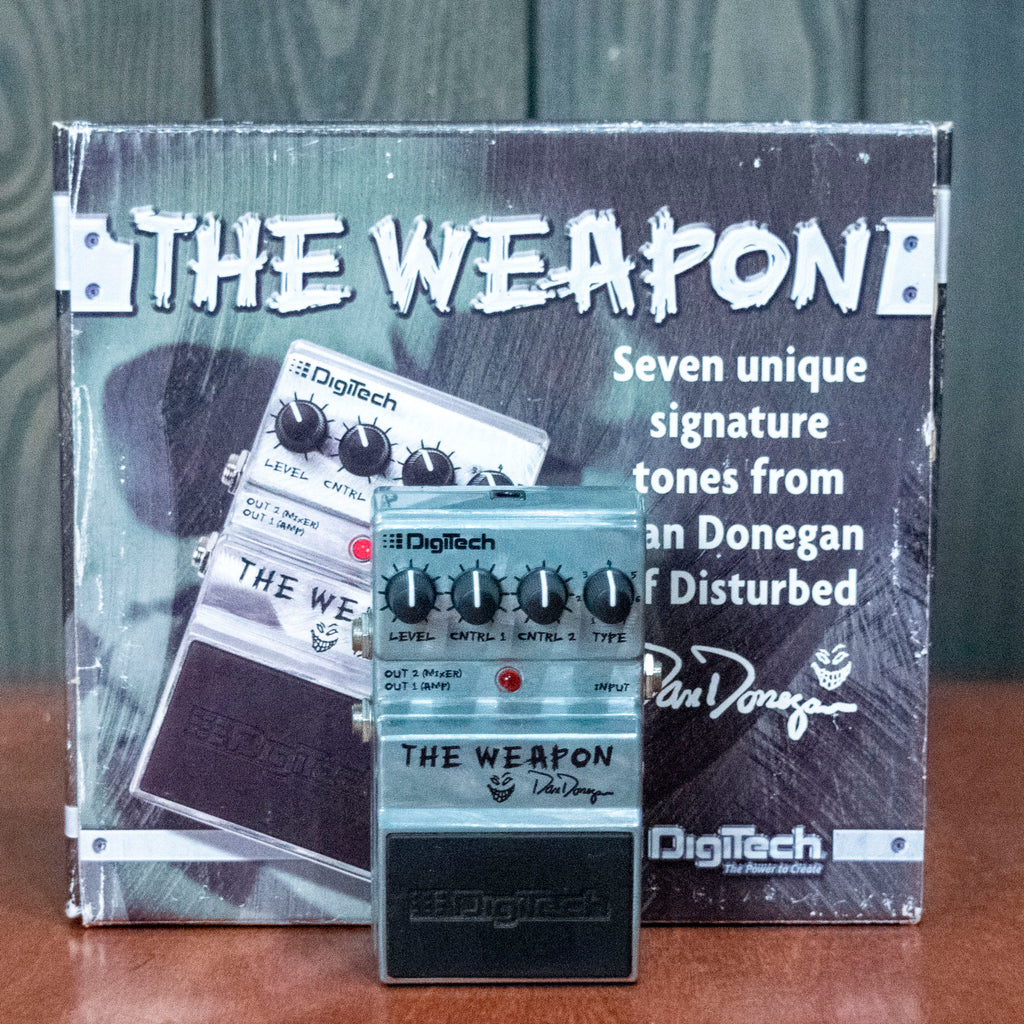 Used Digitech Dan Donegan The Weapon w/ Box