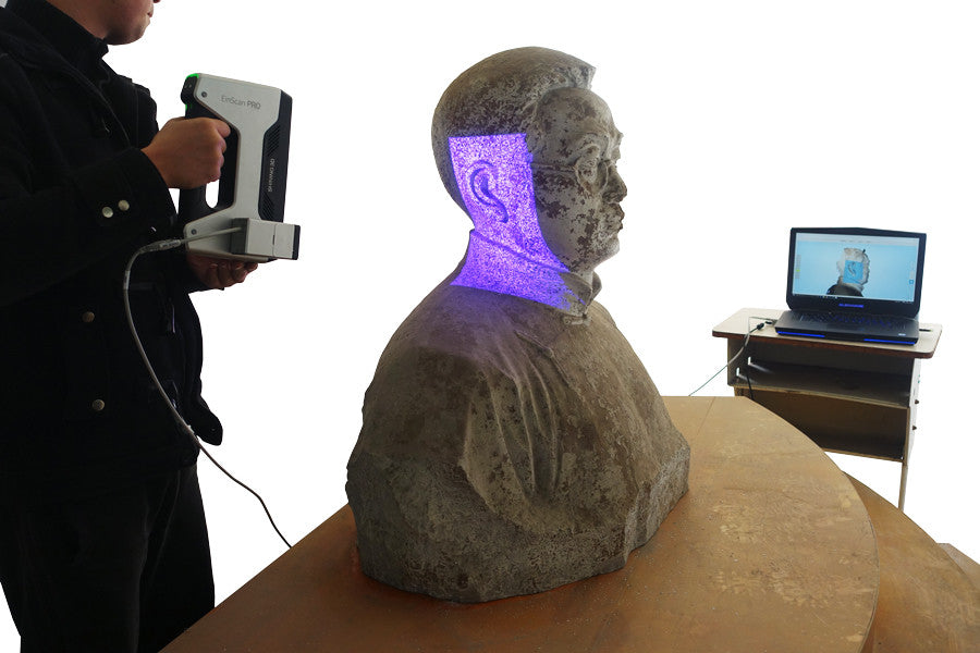 FREE 3D scanning class featuring the EinScan 3D scanners