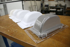 3D printed parts for vacuum forming