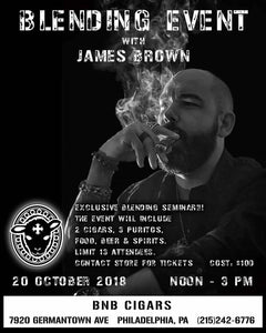 BLTC Event and Blending Seminar with James Brown