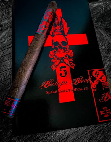 Bishop's Blend 5 Year Anniversary Lancero/Lizard King Box Combo