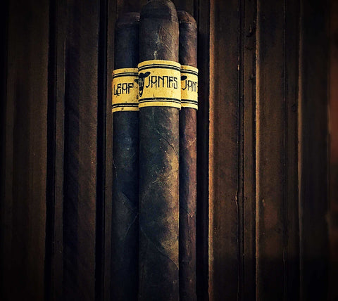 Leaf by James Cigar -  6 x 50 toro