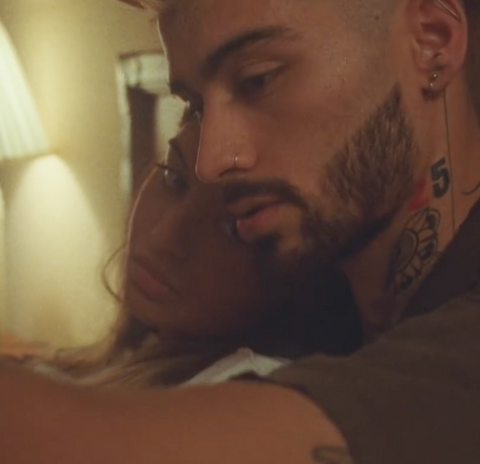 Zayn Malik and Sofia Jamora Entertainer music video