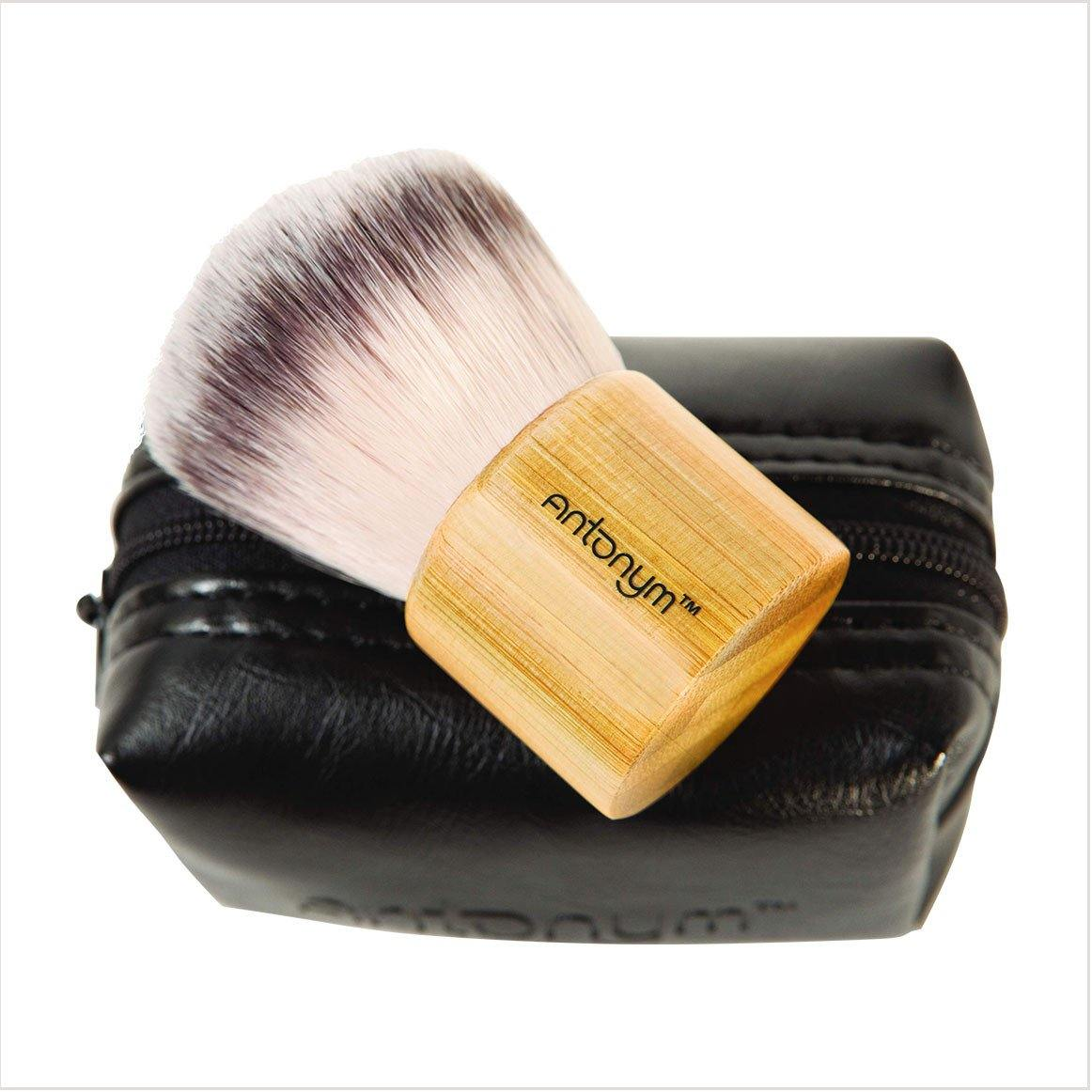 Kabuki Brush/with Pouch - Antonym Cosmetics