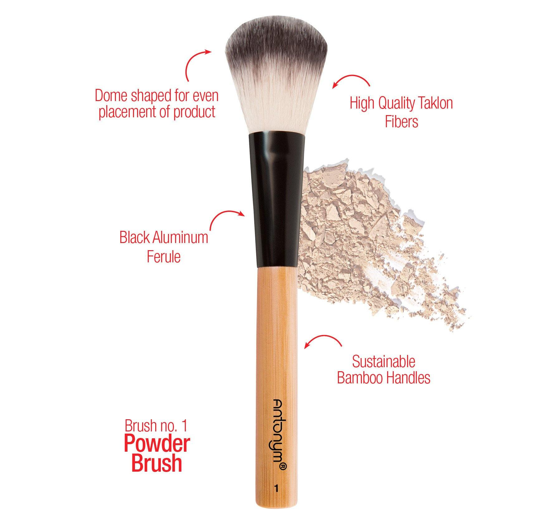 Powder Brush #1 - Antonym Cosmetics