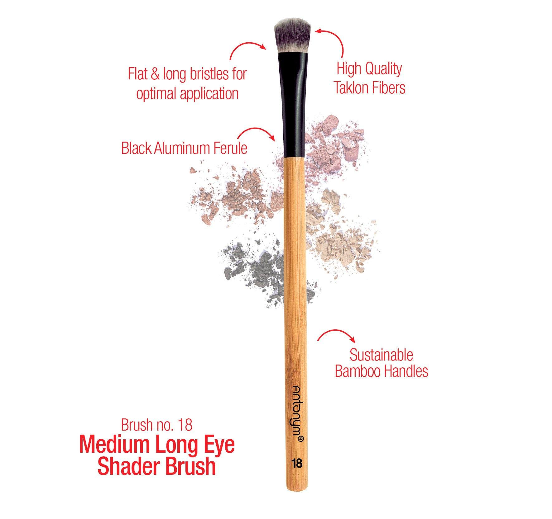 Med Long Eye Shader Brush #18 - Antonym Cosmetics