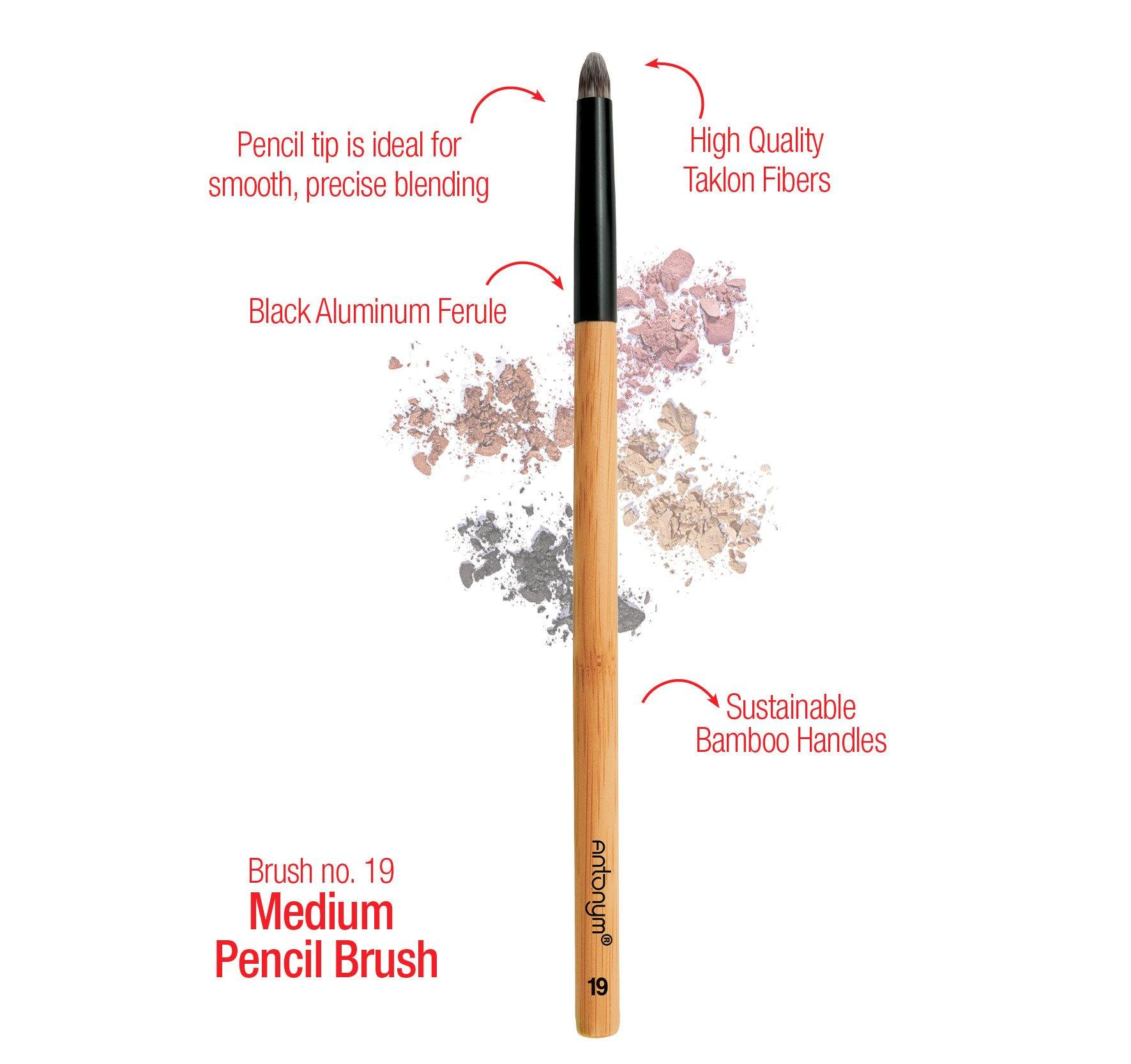 Medium Pencil Brush #19 - Antonym Cosmetics