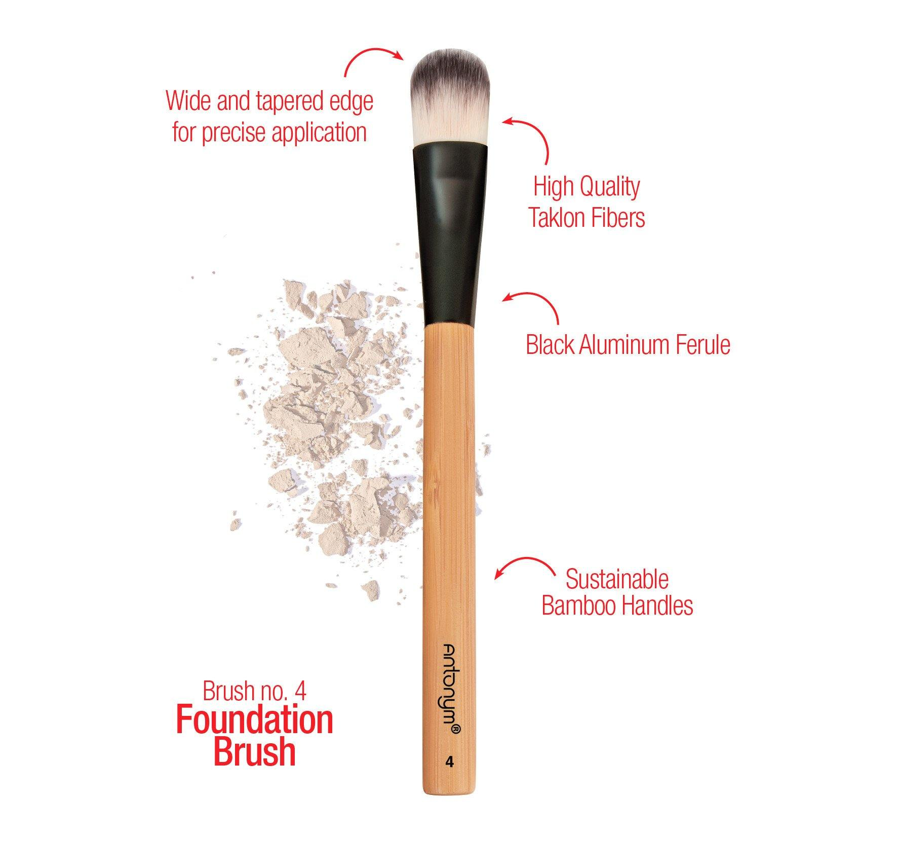 Foundation Brush #4 - Antonym Cosmetics