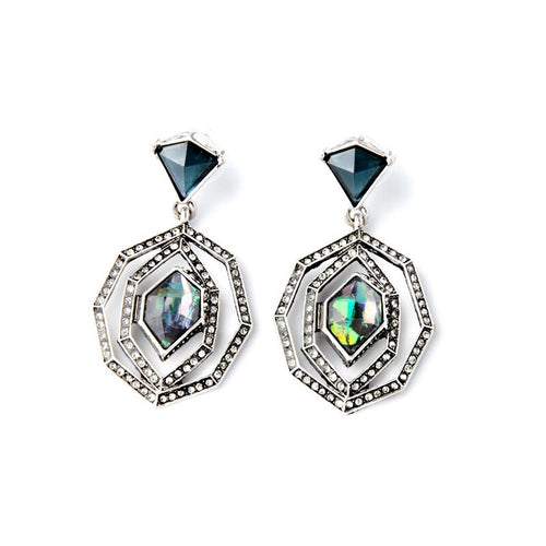 Jade Drop Earrings - Heiress Gems