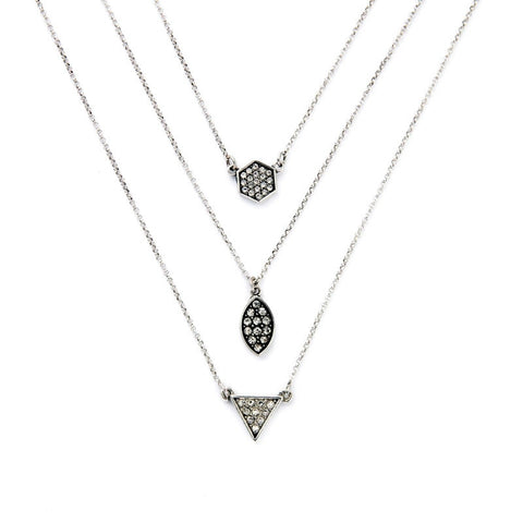 Multilayer Necklace - Heiress Gems