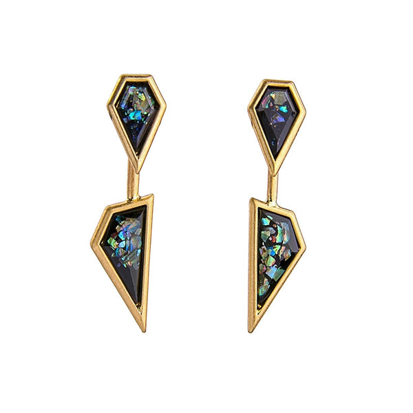 Aztec Glam Earrings - Heiress Gems