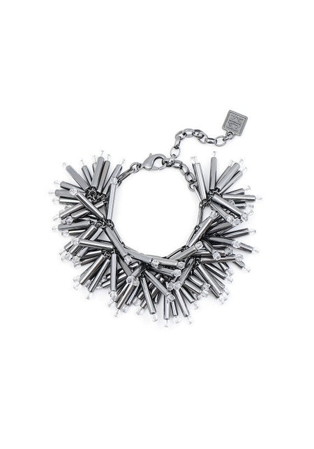 Multilayer Silver Necklace