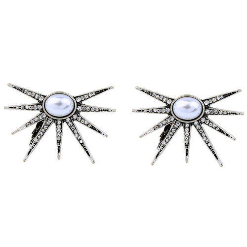 Cosima Silver Earrings - Heiress Gems