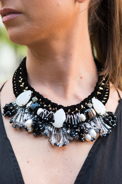 Ecclestone Beaded Necklace - Heiress Gems