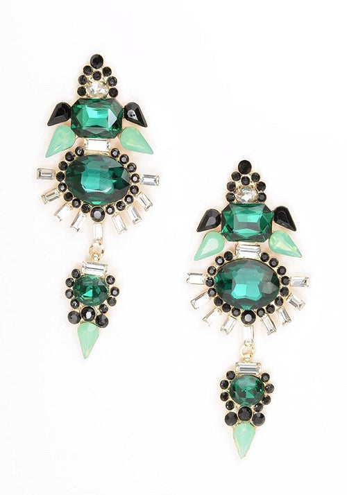 Angel Drop Earrings - Heiress Gems