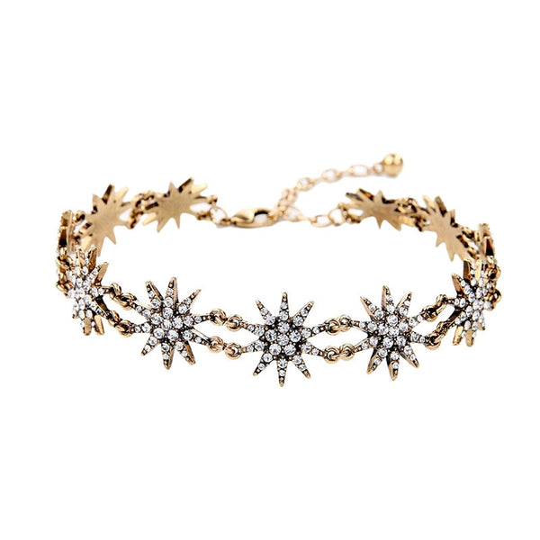 Star Bright Choker Necklace - Heiress Gems