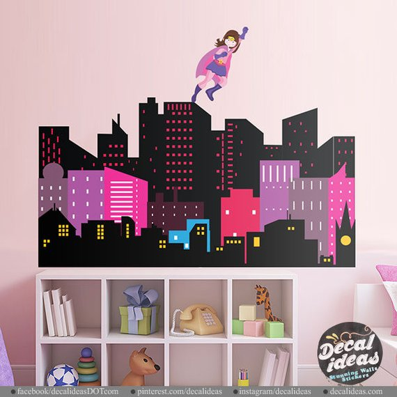 Wall Stickers for Girl Bedrooms
