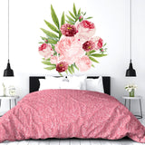 Large Floral Sticker Peel and Stick Custom Wall Decals - Decalideas Wall Decals