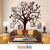 Family Tree Wall Decal - tree wall decal - tree decal - wall decals - wall decals for living room - wall decals for bedroom