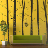 Birch Tree Decal Peel and Stick Custom Wall Decals - Decalideas Wall Decals