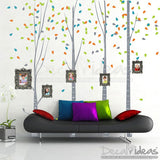 Tree Wall Decal for Bedroom P-50098-D - Decalideas Wall Decals