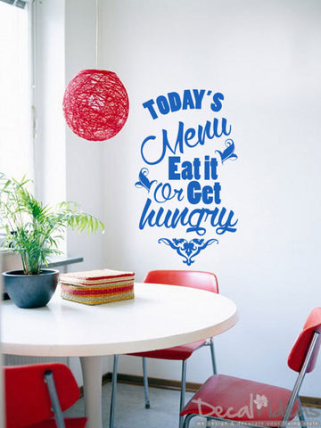 Kitchen Wordings Vinyl Wall Decal Sticker - Kitchen Letterings D-50095-D