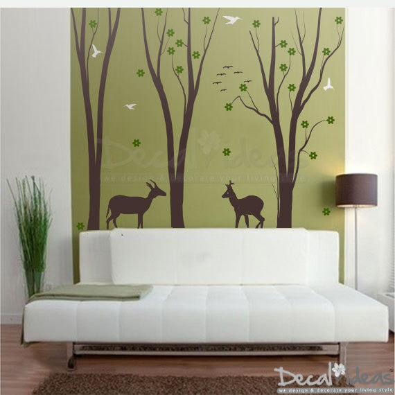 Family Tree Wall Decal | Bedroom Wall Decal | Decalideas D-50092-D