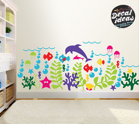 12660033108 Nursery Wall Decals
