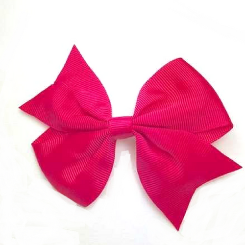 Hair Bow - Fucsia
