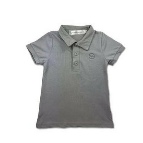 Harvey Polo Shirt -  Grey