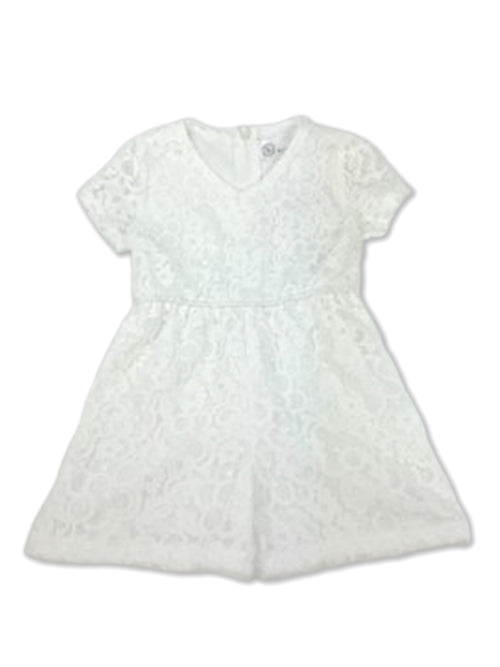 Charlotte Playsuit - White Lace