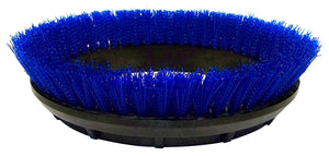 "BISSELL BigGreen Commercial 237.058BG Scrub Brush.020"" Bristle Diameter Crimped Polypropylene for BGEM9000 Easy Motion Floor Machine, 12"", Blue"