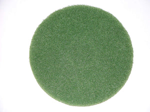 "BISSELL BigGreen Commercial 437.056BG Cleaning Pad for BGEM9000 Easy Motion Floor Machine, 12"", Green, Case of 5 pads"