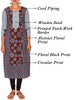 Abstract Busy Printed Cotton Kurti