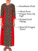 Pear & Fringed Tasselled Cotton Rayon Kurti
