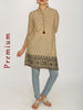 Oxidised Grape Design Buttons & Resham Work Cotton Kurti