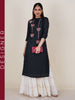 Ethnic Zardosi Work Embellished Silk-Cotton Kurti