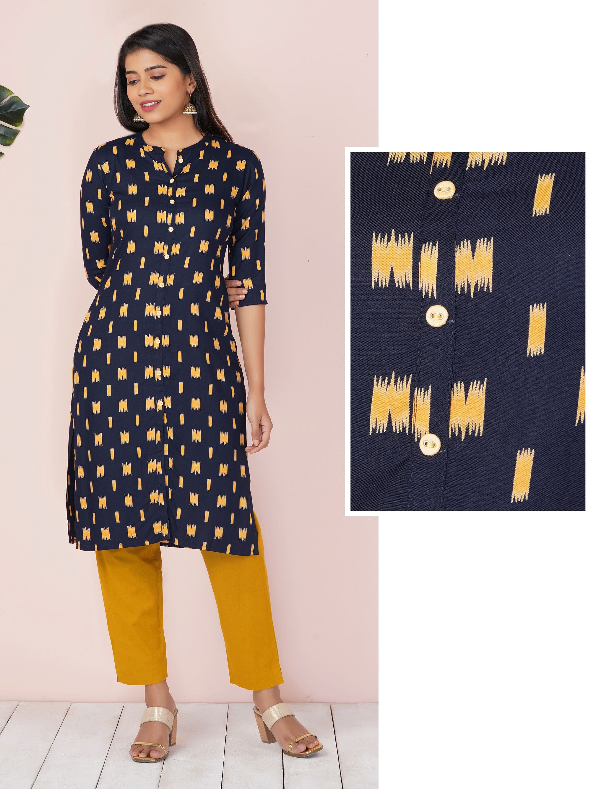 Repeat Quirky Motif Kurta
