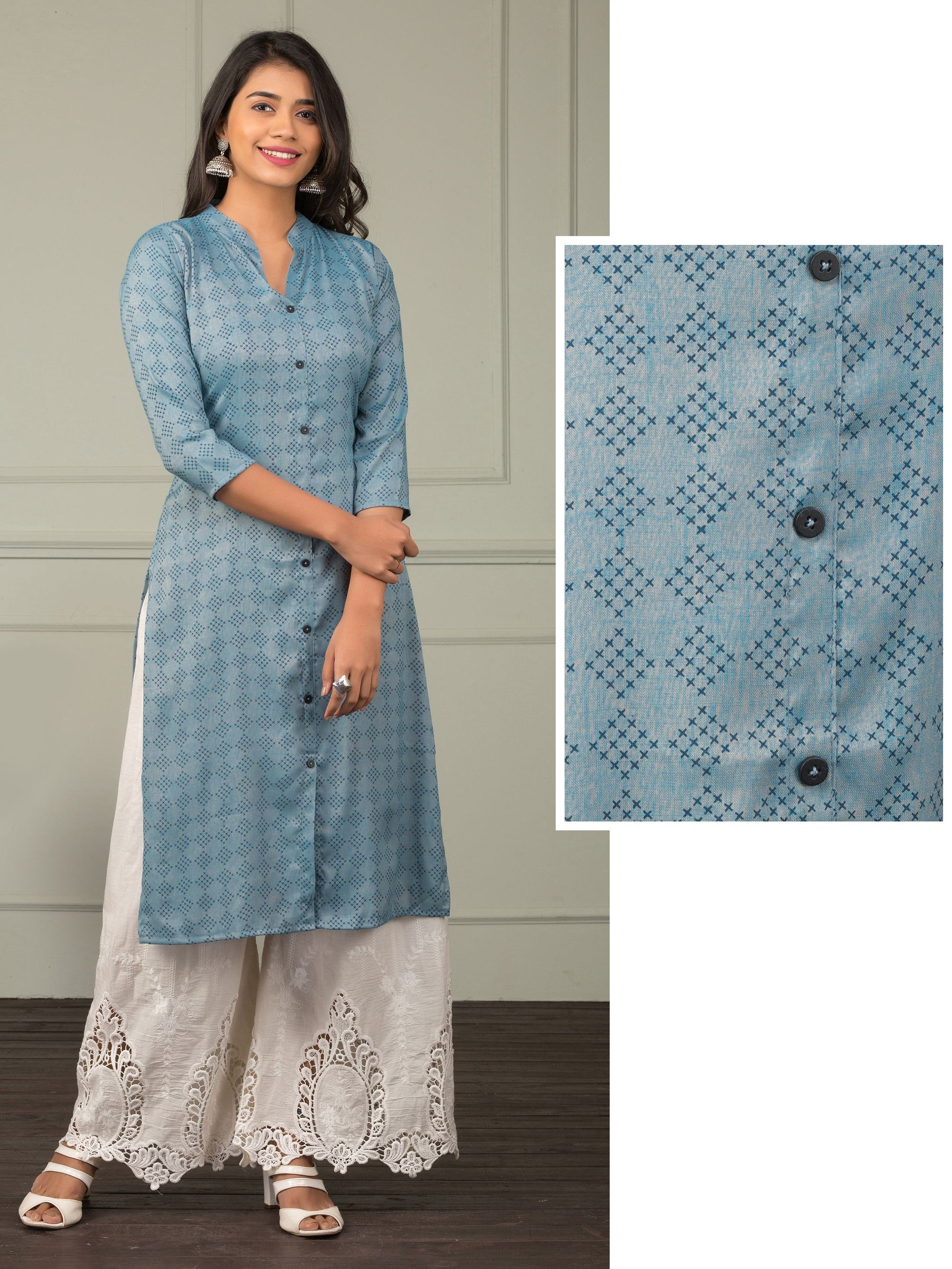 Quirky Diamond Printed Kurti
