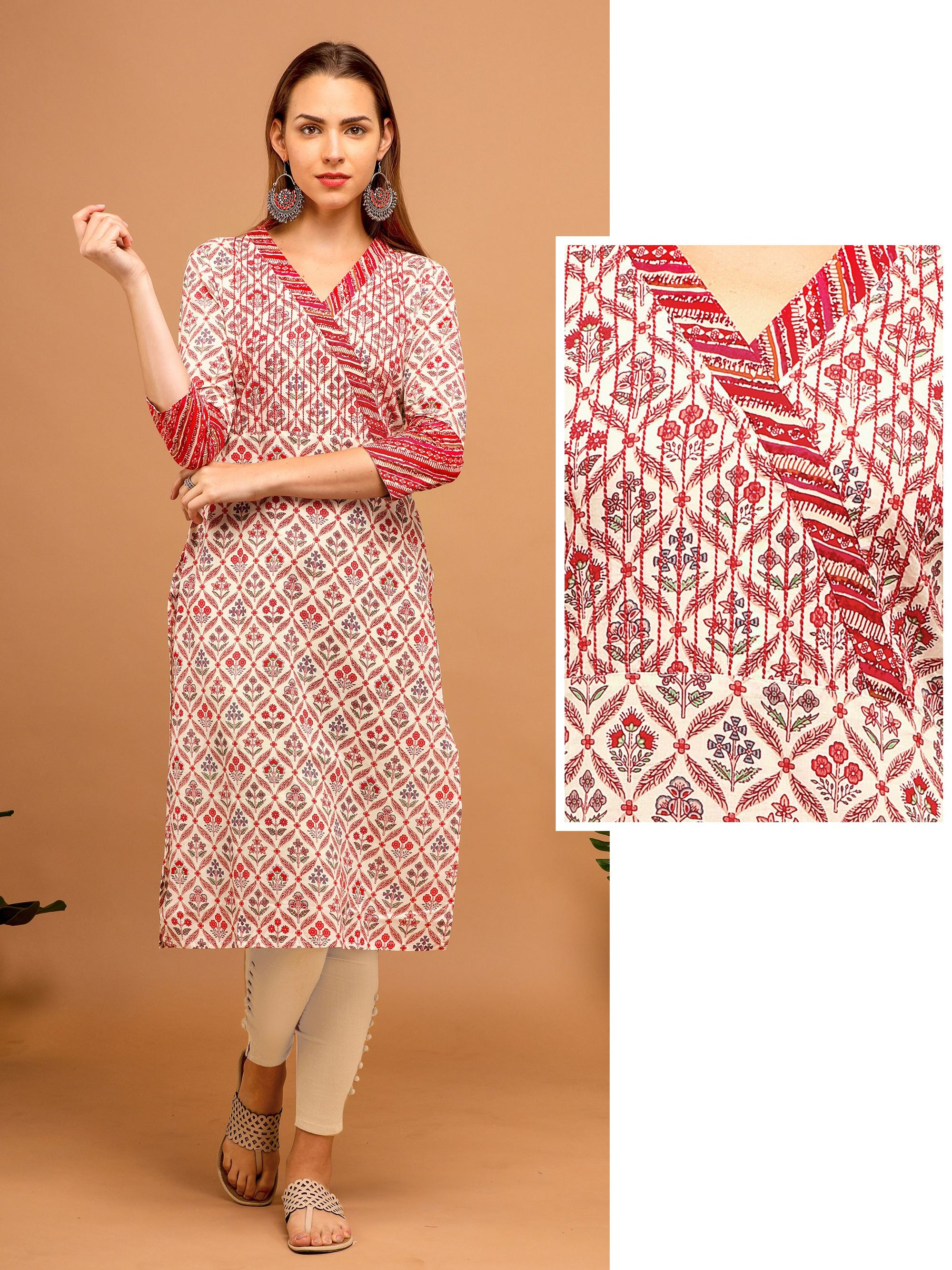 All over printed Kurta