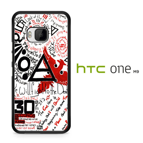 30 Second to Mars Quotes HTC One M9 Case