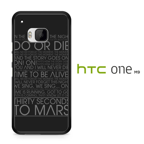 30 Second To Mars Do Or Die HTC One M9 Case