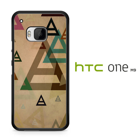 30 Second to Mars Pattern HTC One M9 Case