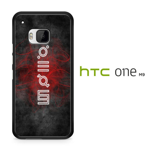 30 Second To Mars Script HTC One M9 Case