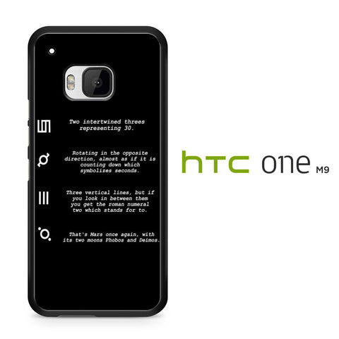 30 Second to Mars Symbol Definition HTC One M9 Case