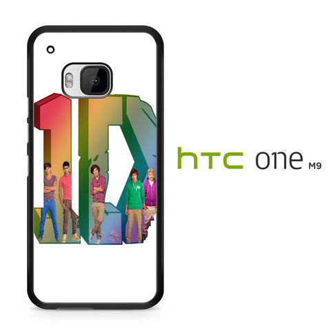 1D Logo Colourfull HTC One M9 Case - HTC One M9 case