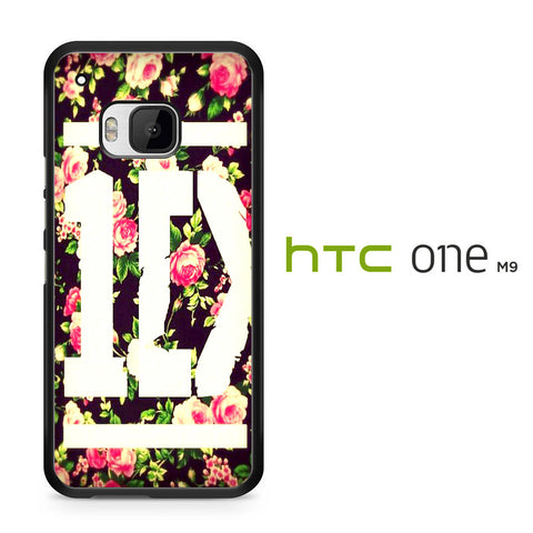 1D Logo Flower HTC One M9 Case - HTC One M9 case