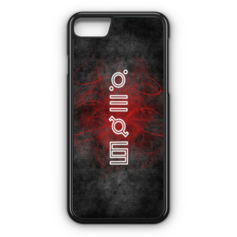 30 Second To Mars Script iPhone 7 Case
