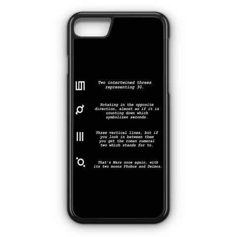 30 Second to Mars Symbol Definition iPhone 7 Case